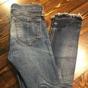 Rag & Bone Skinny Jeans Sze 25